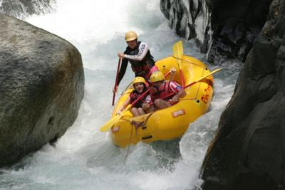 El Chorro-Naranjo River-Class 4+